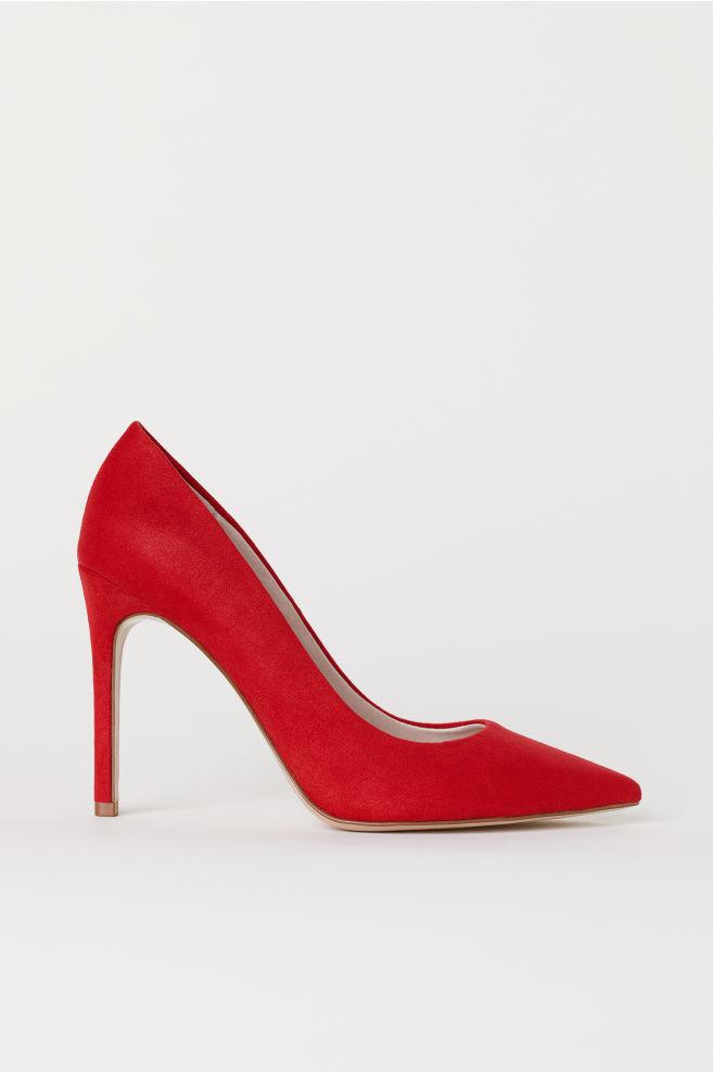 a790f6a6ccabf2 Escarpins - Rouge - FEMME   H&M ...