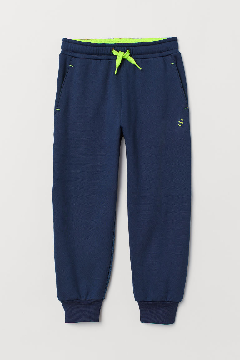 Sports trousers - Dark blue - Kids | H&M CN