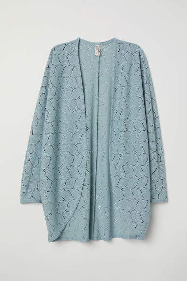 Lace cardigan - Light turquoise - Ladies | H&M