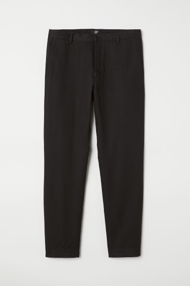 Chinos Slim Fit - Black - Men | H&M