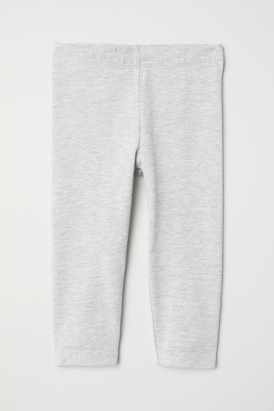 3/4-length leggings - Grey marl - Kids | H&M