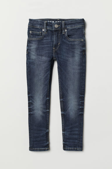 Superstretch Skinny Fit Jeans - Koyu kot mavisi -  | H&M TR