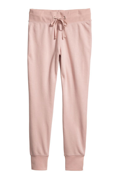 Joggers - Powder pink - Ladies | H&M CN