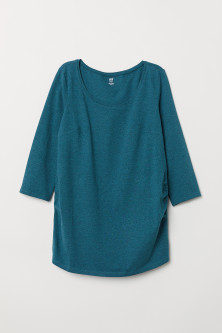 MAMA Cotton Jersey Top