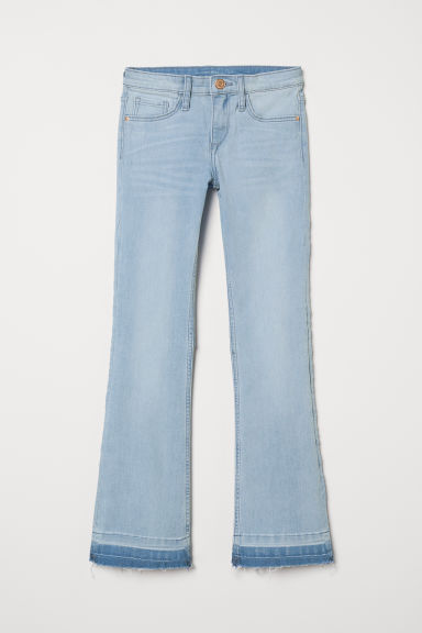 Superstretch Bootcut Jeans - 浅蓝色 - Kids | H&M CN