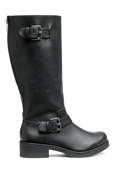 Biker boots - Black - Ladies | H&M CN