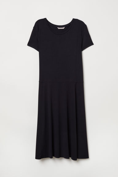 H&M+ Dress - Black - Ladies | H&M CN