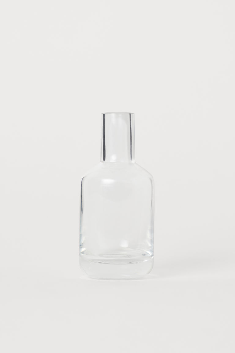 Clear glass mini vase - Clear glass - Home All | H&M IE