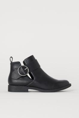 f49a3f9c47474 Women's Ankle Boots | Flat & Heeled | H&M US
