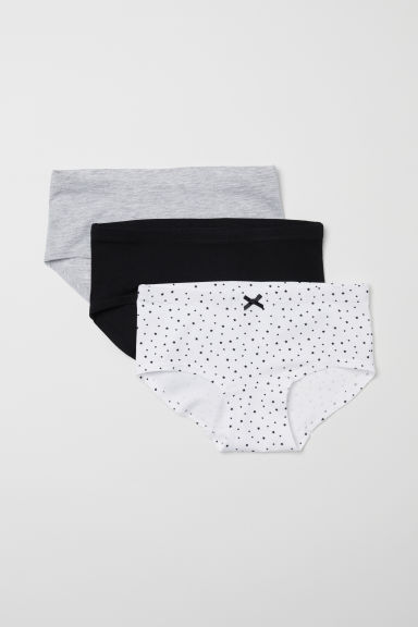3-pack hipster briefs - White/Stars -  | H&M