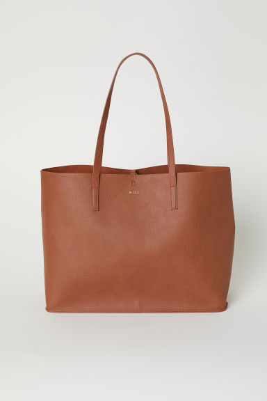 Reversible shopper - Cognac brown - Ladies | H&M