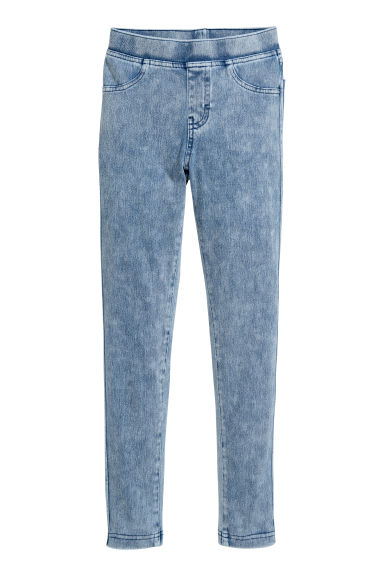 Jersey leggings - Light blue - Kids | H&M