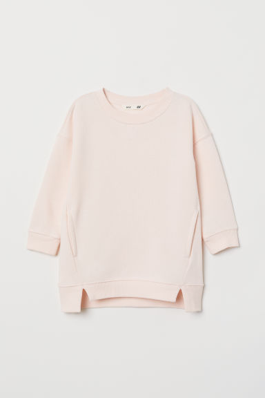 Sweatshirt dress - Light pink - Kids | H&M