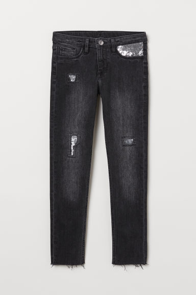 Skinny Fit Jeans - Nero - BAMBINO | H&M IT
