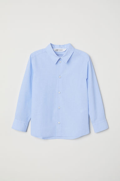 Easy-iron shirt - Light blue - Kids | H&M IE