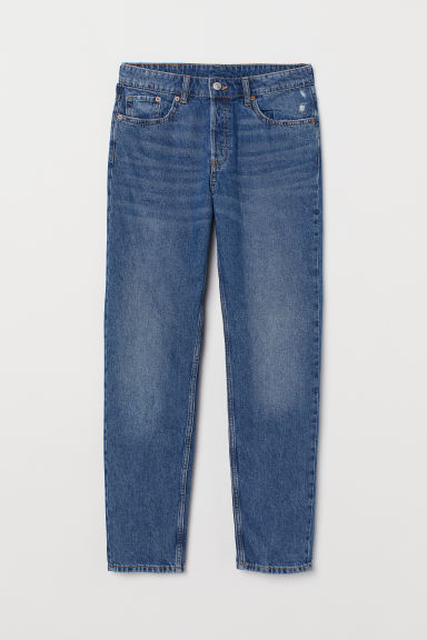 Boyfriend Low Ripped Jeans - Azul denim -  | H&M ES