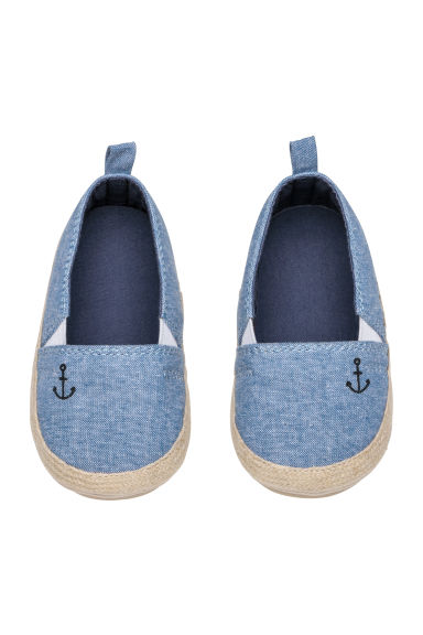 Espadrilles - Light blue -  | H&M CN