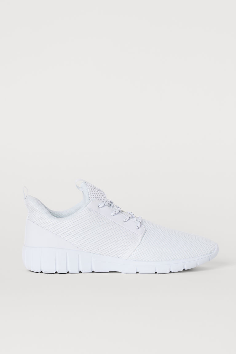 Sneakers in mesh - Bianco - UOMO | H&M CH