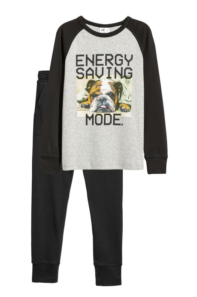 cf323595fd8a Jersey pyjamas - Black Dog - Kids