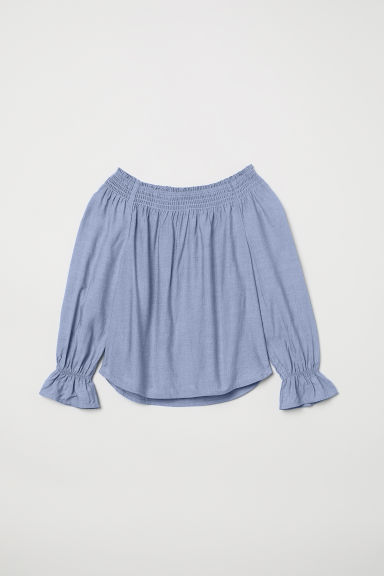 Viscose blouse - Light blue - Kids | H&M