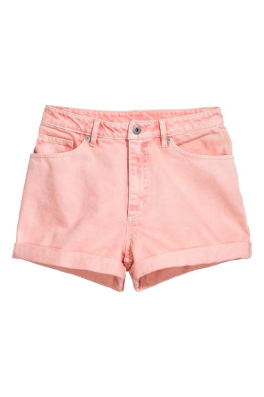 Denim short - Roze - DAMES | H&M NL