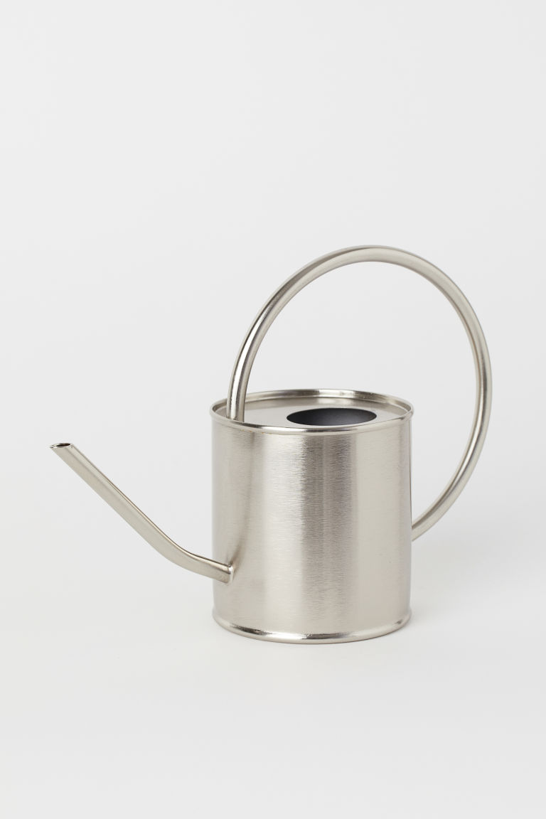 Metal watering can - Silver-coloured - Home All | H&M CN