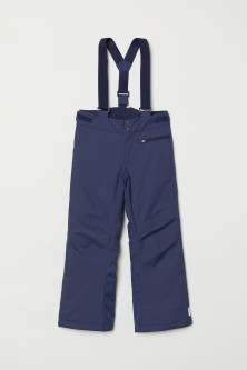 Outdoor trousers with braces