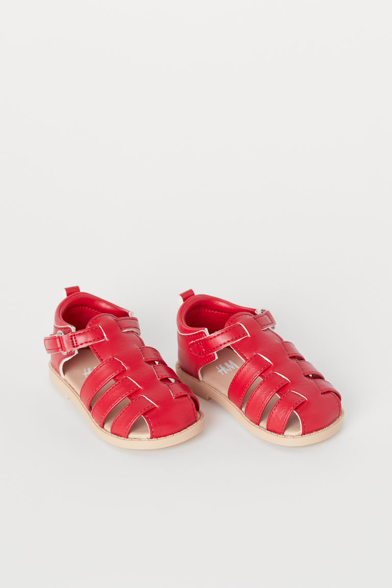 Sandales - Rouge - ENFANT | H&M BE