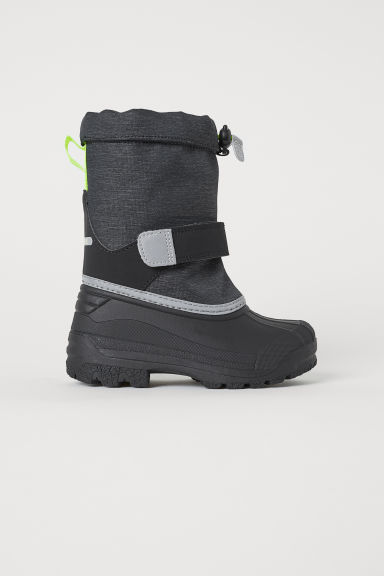 Warm-lined boots - Black - Kids | H&M CN