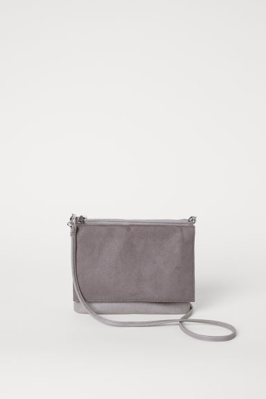 Shoulder bag - Grey -  | H&M