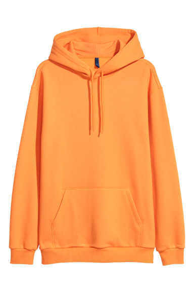 Hooded top - Orange - Men | H&M