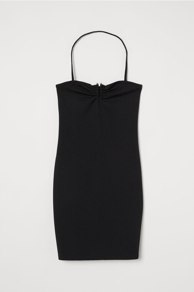 95d972ca89d Платье с открытой спиной - Черный - Женщины