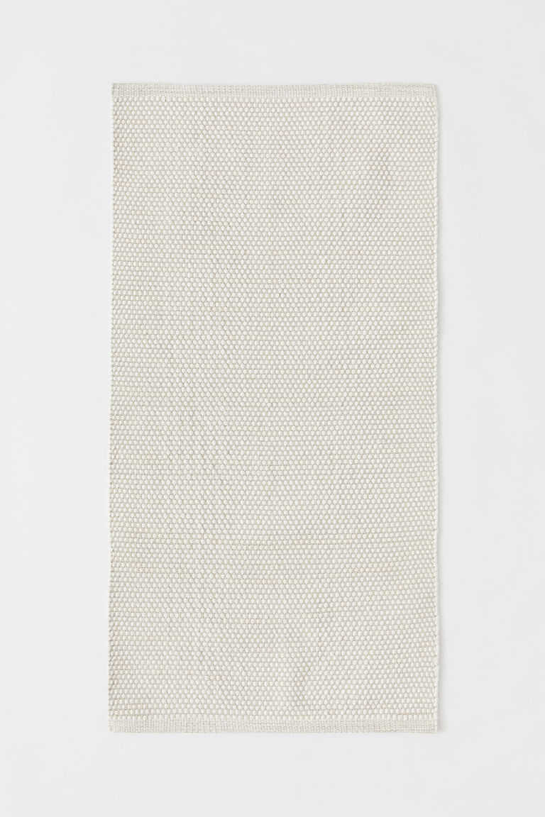Cotton rug - Natural white -  | H&M CN