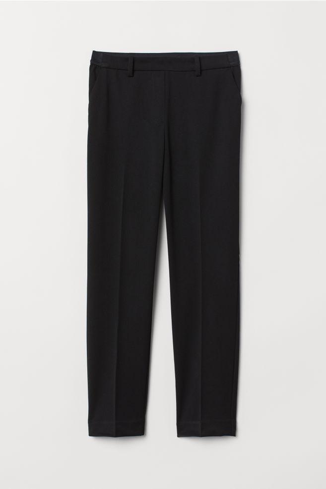 7f6135b5a3b Pantalón pitillo sin cierre - Negro - MUJER | H&M ES