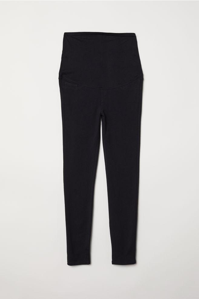 2433acf7808 ... MAMA Tricot legging - Zwart - DAMES | H&M ...