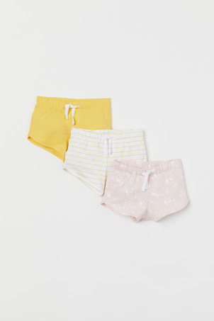 3-pack jersey shorts