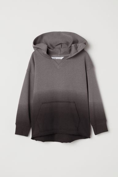 Hooded top - Dark grey -  | H&M CN