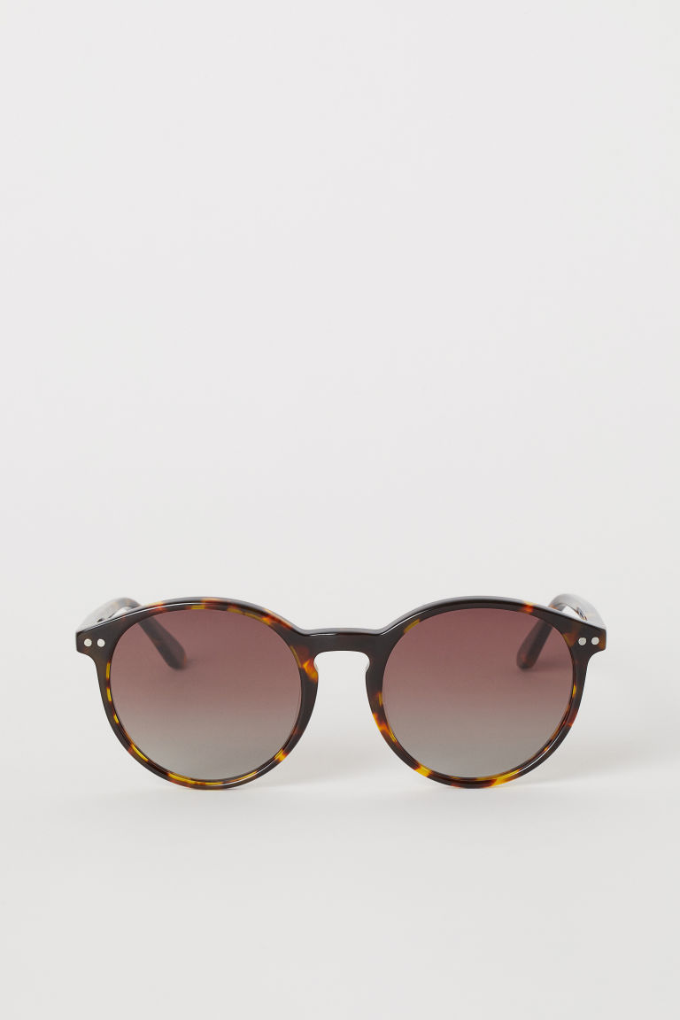 Polarized Sunglasses - Brown/tortoiseshell-patterned - Ladies | H&M CA