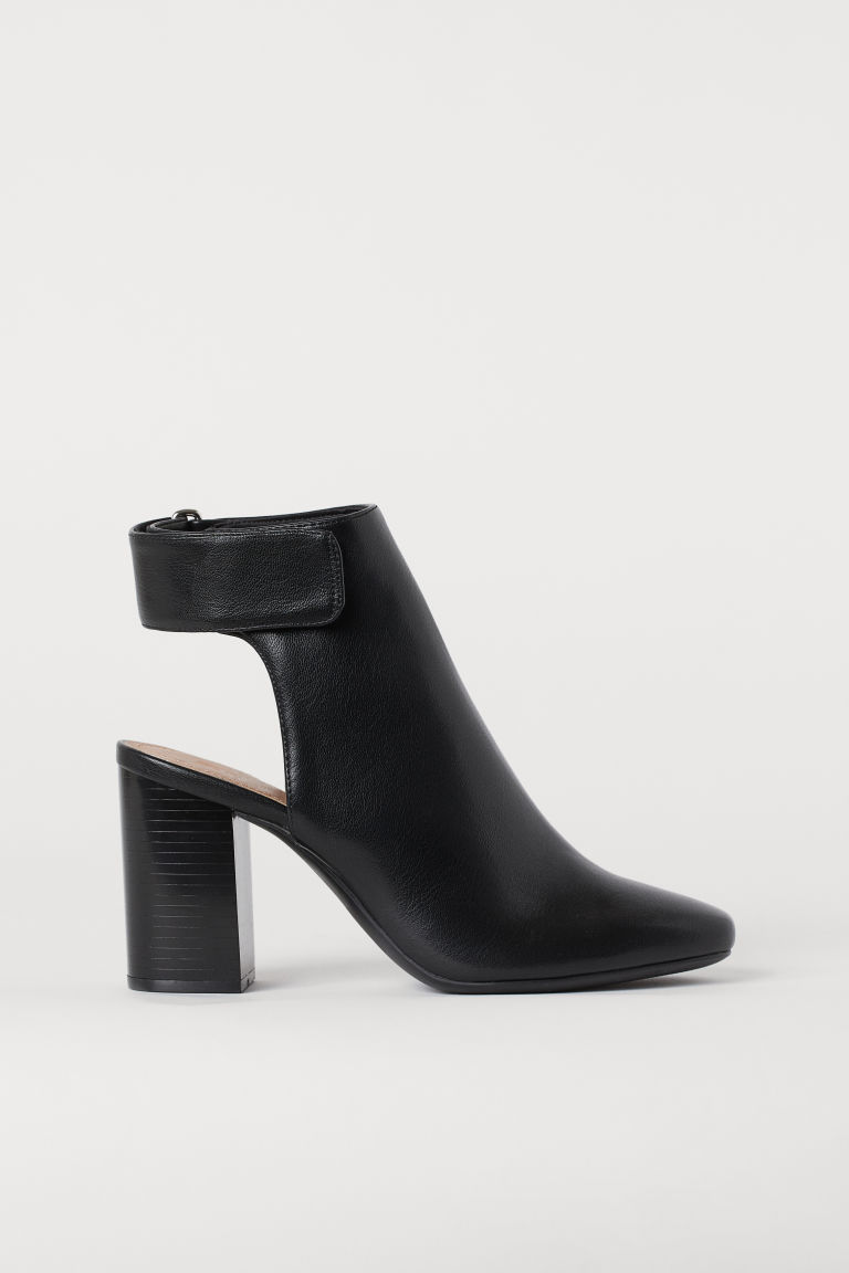 Open-heeled Boots - Black - Ladies | H&M US