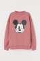 Vintage pink/Mickey Mouse