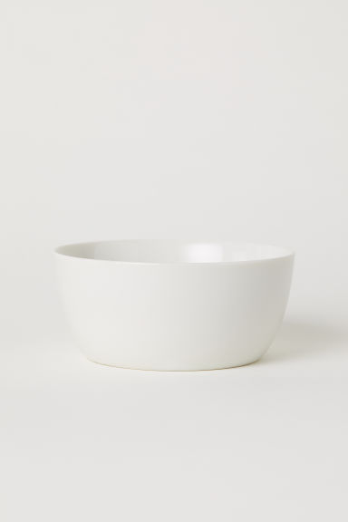 Porcelain bowl - White - Home All | H&M IE