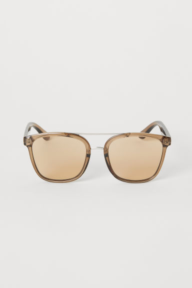 Sunglasses - Brown/Transparent - Men | H&M CN