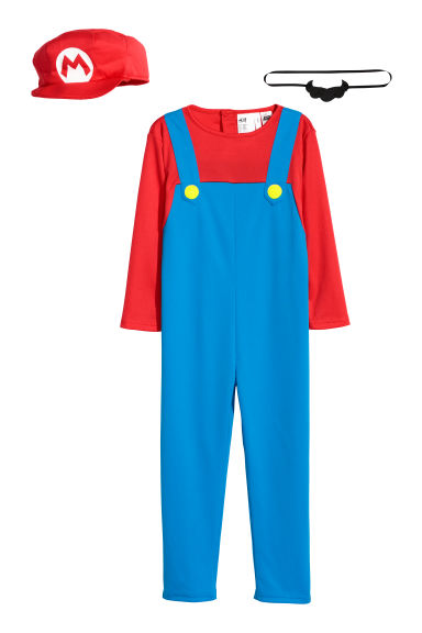 Fancy dress costume - Bright blue/Super Mario -  | H&M