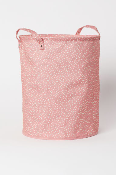 Storage Basket - Pink/dotted - Home All | H&M US