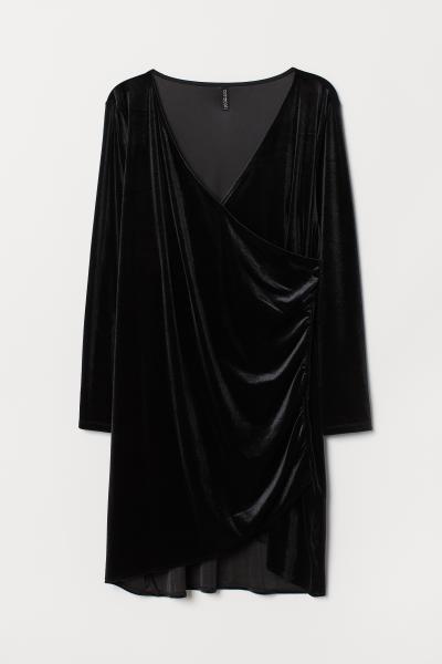 H&M - H&M+ Robe en velours - 5