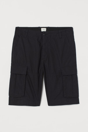 Shorts cargo in cotone