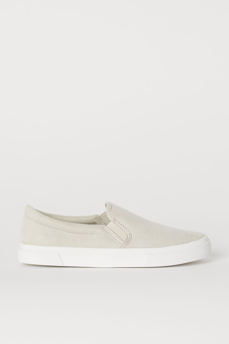 Slip-on Shoes - Light beige - Ladies | H&M CA