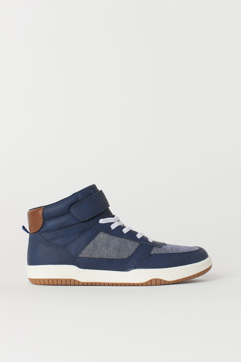 Sneakers alte - Blu scuro -  | H&M IT