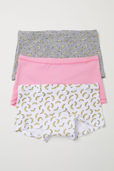 3-pack boxer briefs - Pink/Bananas - Kids | H&M