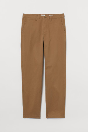 Chinos i bomull Regular Fit